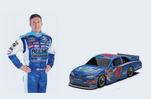Bobby Labonte and the No. 47 Reese Towpower/JTG_Daugherty Racing Toyota Camry