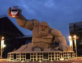 Miles the Monster - Dover International Speedway