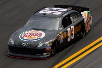 2012 NSCS 93 Burger King car (Travis Kvapil) - Photo Credit: Chris Graythen/Getty Images for NASCAR