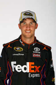 2012 NSCS Denny Hamlin - Photo Credit: Chris Graythen/Getty Images for NASCAR