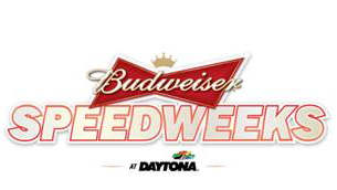 2013 Budweiser Speedweeks at Daytona Logo