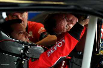 Tony Stewart in car - Photo Credit: Jamie Squire/Getty Images