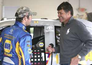 2012 NSCS Martin Truex Jr., and Team Owner Michael Waltrip - Photo Credit: Jerry Markland/Getty Images for NASCAR
