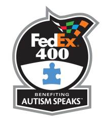 FedEx 400 benefiting Autism Speaks Logo