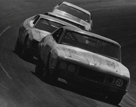 1972 No 21 Wood Brothers Racing Mercury driven by David Pearson