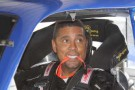 Brad Daugherty in NASCAR Truck at Martinsville Speedway