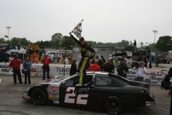 Alex Bowman Wins The Kentuckiana Ford Dealers 200 at Salem (Ind.) Speedway Photo Credit: ARCA Racing Series