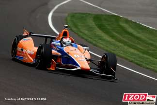 No 83 Novo Nordisk Chip Ganassi Racing driver Charlie Kimball - Photo Courtesy of INDYCAR/LAT USA