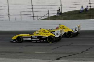 Team Pelfrey Teammates Menezes and Hawksworth battling in the late stages- Photo Credit: Eric McCombs