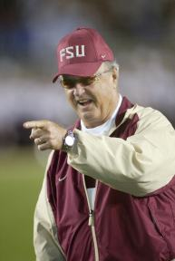 College Football Hall of Famer Bobby Bowden
