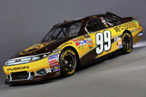 No 99 UPS Ford Fusion - Roush Fenway Racing