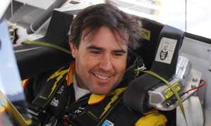Brendan Gaughan driver of the No. 33 South Point Hotel &amp; Casino Chevrolet Impala - Photo Credit: LAT Photographic