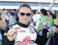 NCWTS Driver Parker Kligerman During Driver Introductions - Photo Credit: Jeff Bottari/Getty Images for NASCAR