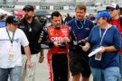 Tony Stewart Signs Autographs - Photo Credit:: John Harrelson/Getty Images for NASCAR