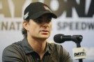 Jeff Gordon, driver of the #24 Chevrolet, speaks with the media - Photo Credit: Jared C. Tilton/Getty Images