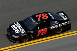 No 78 Furniture Row Chevrolet SS (Kurt Busch) on Track - Photo Credit: Chris Graythen/Getty Images