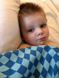 Tripp Halstead, who was injured by a falling branch in October