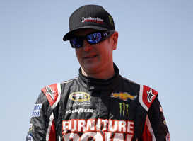 2013 NSCS Kurt Busch - Photo Credit: Chris Graythen/Getty Images
