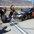 Kurt Busch, driver of the #78 Furniture Row Chevrolet, pits during the NASCAR Sprint Cup Series Kobalt Tools 400 at Las Vegas Motor Speedway on March 10, 2013 in Las Vegas, Nevada. - Photo Credit: Todd Warshaw/Getty Images