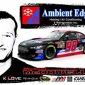 No. 98 Ambient Edge/K-Love Ford Fusion (Michael McDowell) - Phil Parsons Racing