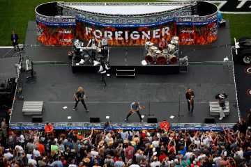 Classic Rock Band Foreigner at Texas Motor Speedway