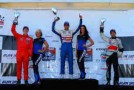 Neil Alberico on Race 2 Podium