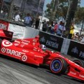 2013 IICS Driver Dario Franchitti on Track at Long Beach - Photo Credit: Firestone Racing