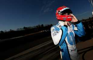 Simon Pagenaud of France, driver of the #77 Schmidt Hamilton HP Motorsports Honda - Photo Credit: Nick Laham/Getty Images