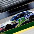 2013 NSCS Driver Casey Mears in the No. 13 GEICO Ford Fusion on Track - Photo Credit: Sean Gardner/Getty Images