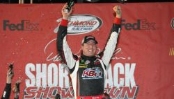 Kyle Busch Wins The Denny Hamlin Short Track Showdown