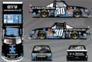 No. 30 Autism Speaks Chevrolet Silverado Layout