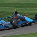 2013 IICS Driver Alex Tagliani in the No. 98 Barracuda Racing Indycar - Photo Credit: Walter Kuhn for IMS