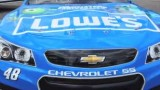 2013 NSCS No. 48 Lowe's Monsters University Chevrolet SS Hood