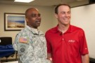 NASCAR Driver Kevin Harvick Makes Special Appearance at Fort Bragg