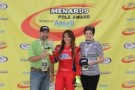 Milka Duno Wins International Motorsports Hall of Fame 250 Pole