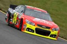 2013 NSCS Driver Jeff Gordon on track in the No. 24 Axalta Chevrolet SS - Photo Credit: Chris Trotman/Getty Images