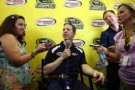 Brad Keselowski, driver of the #2 Miller Lite Ford, speaks to the media during the NASCAR Sprint Cup Series Wild Card Contenders Press Conference at Richmond International Raceway on September 5, 2013 in Richmond, Virginia. - Photo Credit: Todd Warshaw/Getty Images