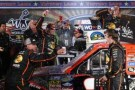 Ty Dillon, driver of the #3 Bass Pro Shops / Tracker Boats Chevrolet, celebrates in Victory Lane after winning the NASCAR Camping World Truck Series WinStar World Casino 350k at Texas Motor Speedway on November 1, 2013 in Fort Worth, Texas. - Photo Credit: Chris Graythen/Getty Images