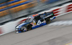 2013 NNS Driver Trevor Bayn on track in the No. 6 Ford EcoBoost Ford Mustang - Kevin C. Cox/Getty Images