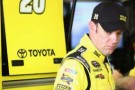 Matt Kenseth, driver of the #20 Dollar General Toyota, looks on during practice for the NASCAR Sprint Cup Series Ford EcoBoost 400 at Homestead-Miami Speedway in Homestead, Florida. - Photo Credit Todd Warshaw/Getty Images