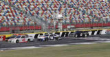 NASCAR teams hit the track for the final time in 2013 to finalize rules packages for 2014 season. (Credit: CMS/HHP)