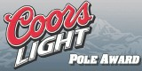 Coors Light Pole Award