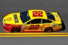 2014 NSCS Driver Joey Logano on track in the No. 22 Shell/Pennzoil Ford Fusion - Photo Credit: Jonathan Ferrey/Getty Images