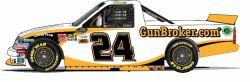 No. 24 GunBroker.com Chevrolet Silverado