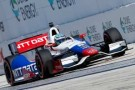 2014 VICS Driver Ryan Briscoe on track in the No. 8 NTT DATA Chevrolet - Photo Credit: Rob Foldy/Getty Images