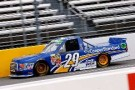 2014 NCWTS Driver Ryan Blaney on track in the No. 29 Cooper Standard Toyota Tundra - Photo Credit: Matt Sullivan/Getty Images