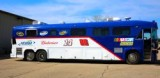 Michigan International Speedway's Extreme Bus Makeover