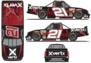 No. 21 Vertx® Chevrolet Silverado Layout