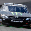 2014 NNS Driver Kyle Busch on track at Michigan in the No. 54 Monster Energy Toyota Camry - Photo Credit: Jason MillerGetty Images