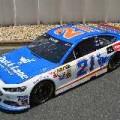 "2014 NSCS No. 21 Motorcraft/Quick Lane ""Junie Blue"" Ford Fusion"